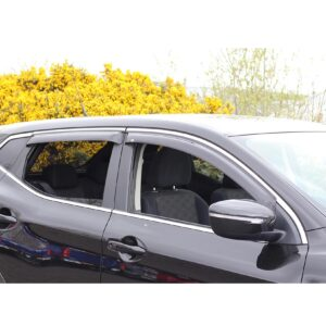 NISSAN QASHQAI 2014 ON - EGR QUAD WIND DEFLECTORS
