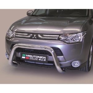 MITSUBISHI OUTLANDER 2013-2015 MISUTONIDA EU APPROVED FRONT BAR - 76MM