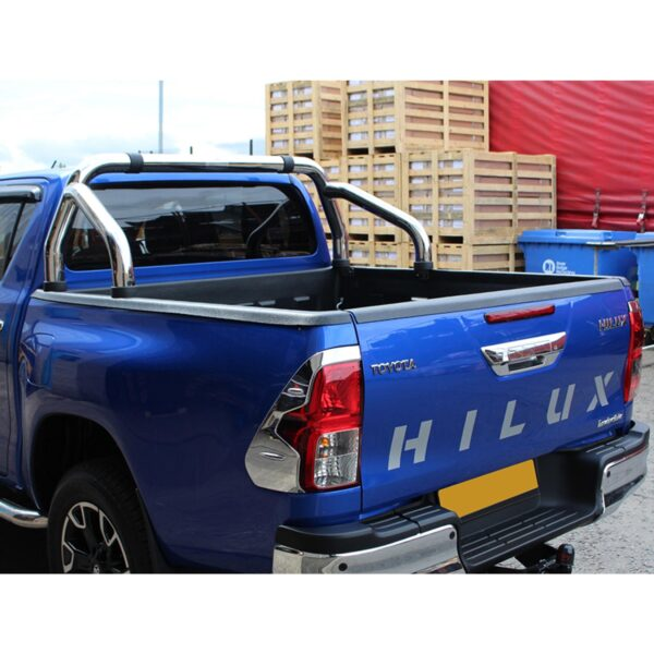 TOYOTA HILUX ROLL BAR - STAINLESS 2