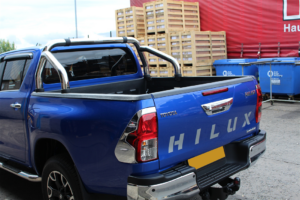 TOYOTA HILUX 2016 ON EGR STAINLESS STEEL ROLL BAR - 76MM
