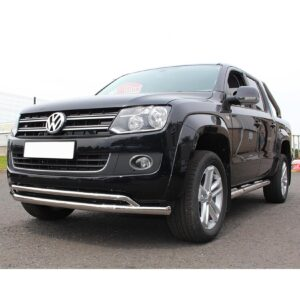 Amarok spoiler bar double stainless
