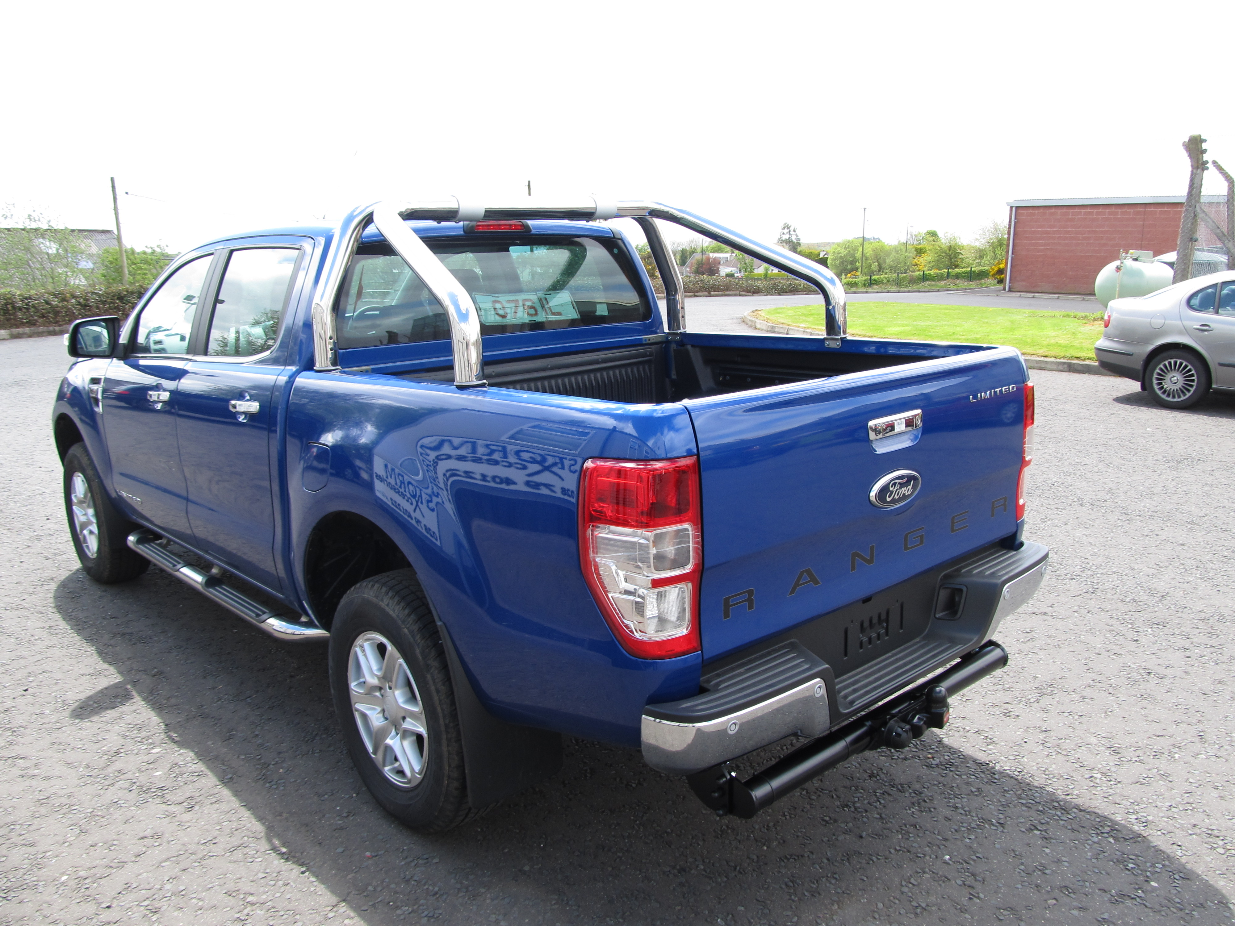 Ford Ranger T6 2012 On Tow Bar With For Vehicles With Bumper Fitted Storm Xccessories