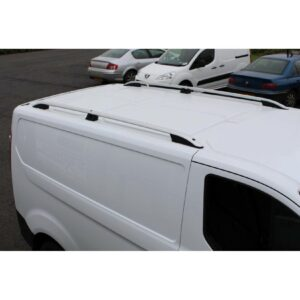 Ford Transit Custom LWB roof rails - silver