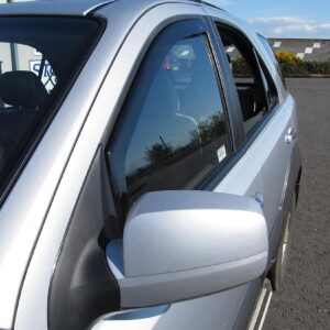 Kia Sportage 2010 on - DGA Wind Deflectors - Front