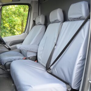 Mercedes Sprinter seat covers grey