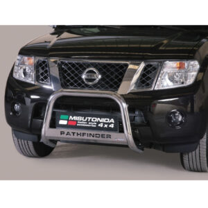 Nissan Pathfinder 63mm a-bar bull bar ec approved