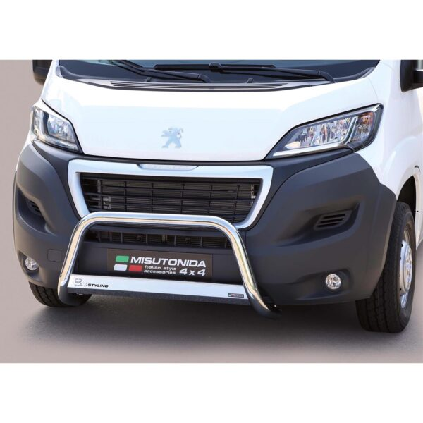 PEUGEOT BOXER A-BAR STAINLESS STEEL