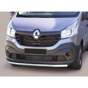 RENAULT TRAFIC VAUXHALL VIVARO 2014 ON MISUTONIDA SPOILER BAR – STAINLESS FINISH