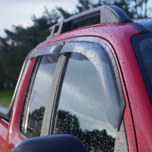 VW Amarok wind deflectors