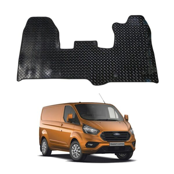 ford transit custom 2016 on tailored rubber mat