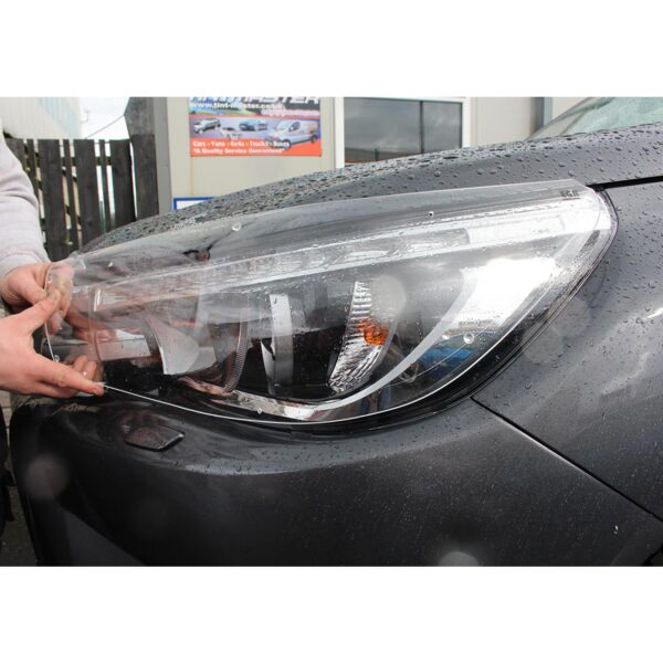 TOYOTA HILUX CLEAR HEADLIGHT COVERS