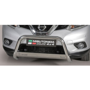 Nissan X-Trail 2015 on ec approved stainless steel a-bar bull bar