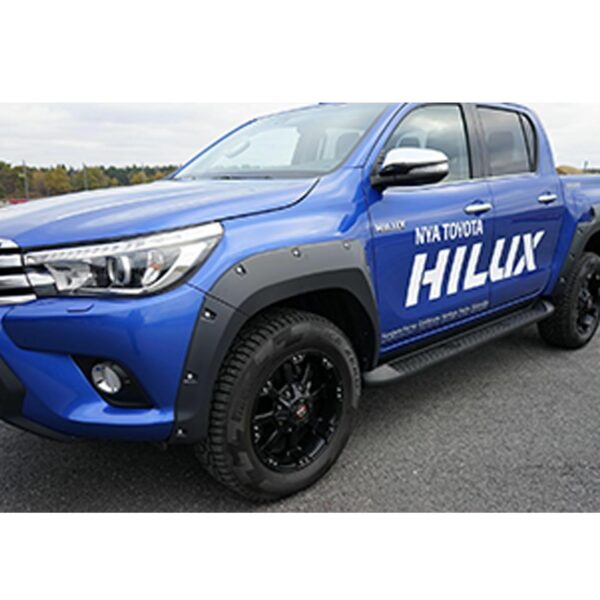TOYOTA HILUX WHEEL ARCHES BOLT ON LOOK