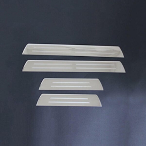 Toyota Hilux door sill covers - chrome