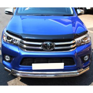 hilux spoiler bar double stainless
