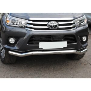 hilux spoiler bar stainless - twisted