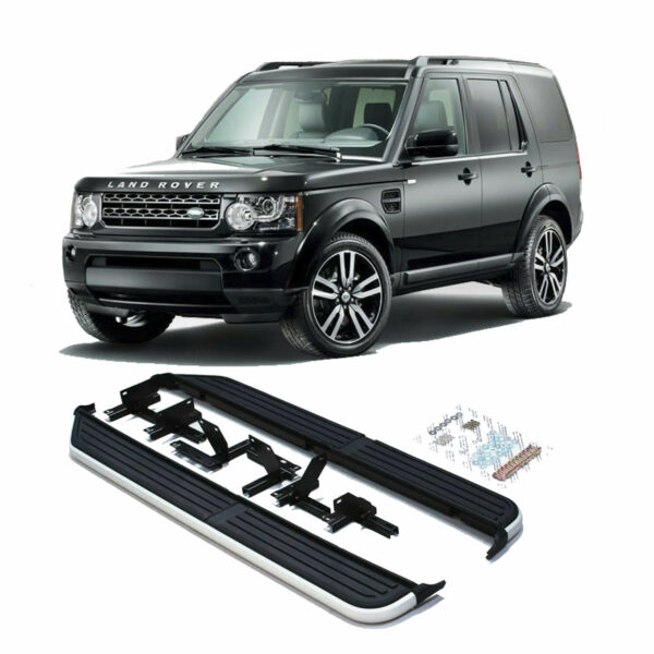 LAND ROVER DISCOVERY 3 – 4 – 2005-2015 OE STYLE SIDE STEPS – RUNNING BOARDS