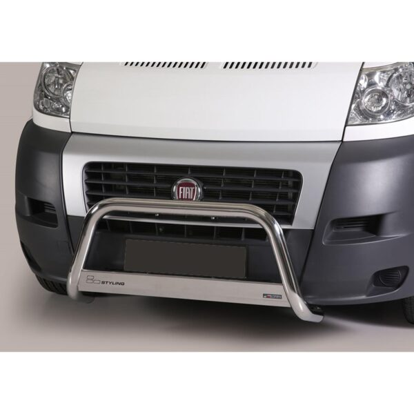 FIAT DUCATO FRONT A-BAR STAINLESS