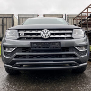 VW Amarok Double Deck Spoiler Bar - Black