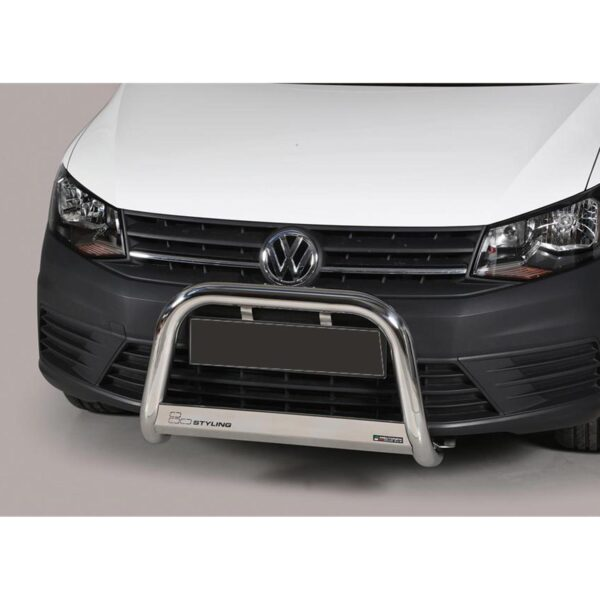 VW CADDY A-BAR – STAINLESS FINISH