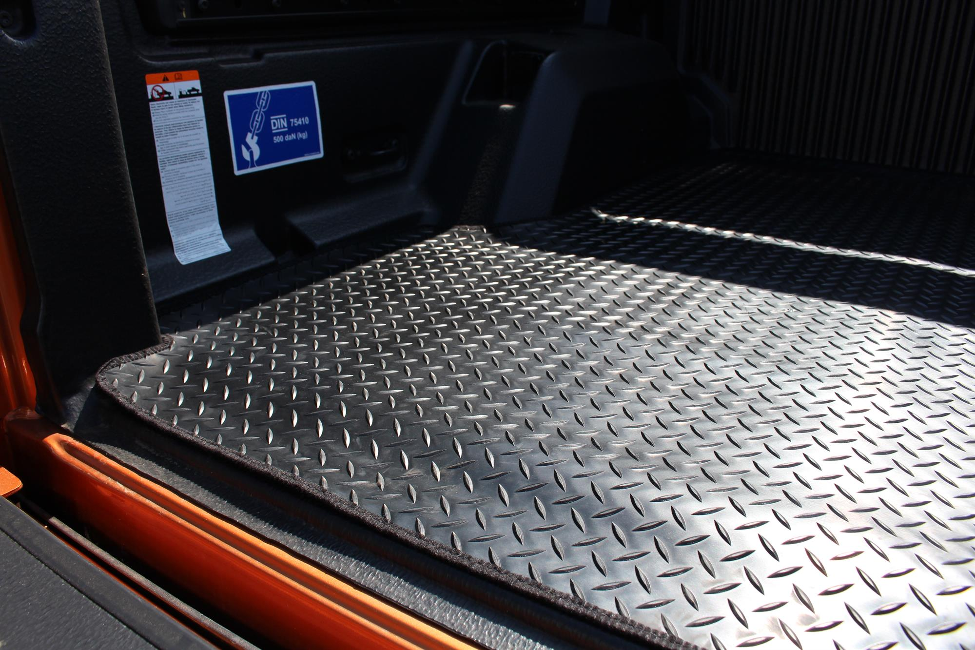 Ford Ranger T6 2012 2019 Double Cab Load Bed Rubber Mat In
