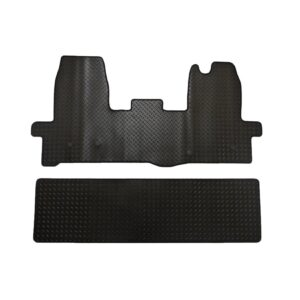 FORD TRANSIT MK8 2016 ON STX FRONT AND REAR TAILORED FIT RUBBER MATS