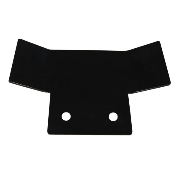 tow bar protection plate black