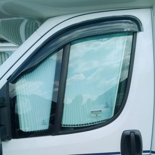 CITROEN RELAY - FIAT DUCATO - 2006 ON - STX WIND DEFLECTORS - EXTERNAL FIT