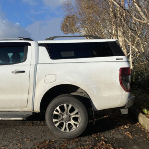 Ford Ranger White Platinum Hard Top Canopy