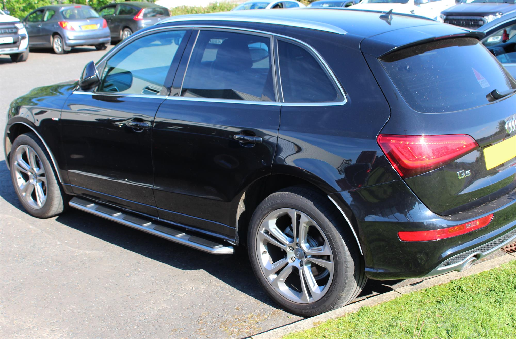 Audi Q5 2013 2017 Stx Side Steps Running Boards Oem Style