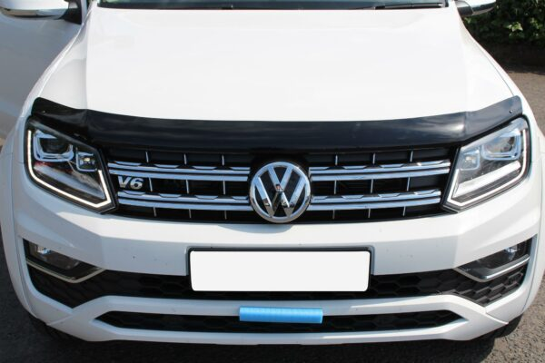 B003 VW AMAROK 2010-2018 BONNET GUARD PROTECTOR IN BLACK