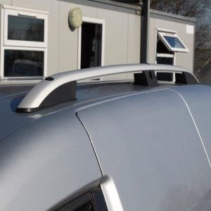 VW CADDY 2004-2009 SWB ALUMINIUM ROOF BARS IN SILVER