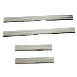 FORD RANGER 2016 ON STX STAINLESS STEEL DOOR SILL COVERS – 4PCS SET