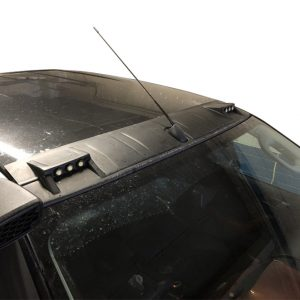FORD RANGER 2012 ON STX FRONT ROOF SPOILER WITH LED's