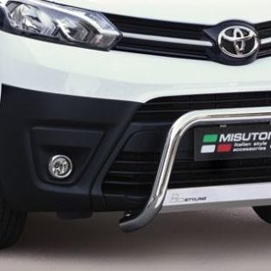 TOYOTA PROACE 2016 ONWARDS MISUTONIDA STAINLESS STEEL FRONT A-BAR 63MM