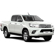 Toyota Hilux Mk8 Double Cab Hardtops (2016 on)
