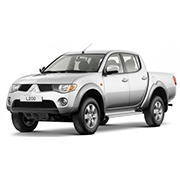 Mitsubishi L200 Long Bed Double Cab Hardtops (2010-2015)