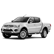 Mitsubishi L200 TROJAN Short Bed Double Cab Tonneau Covers (2010-2014)