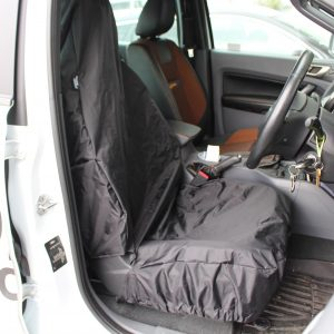 STORM UNIVERSAL FIT SINGLE WATERPROOF SEAT COVER IN BLACK