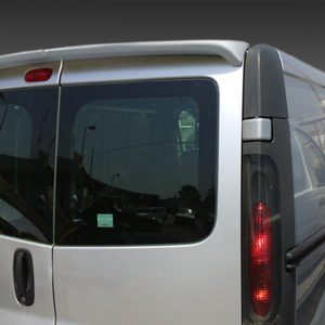 VAUXHALL VIVARO 2014 ON REAR SPOILER (BARN DOORS)