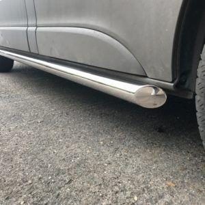 NISSAN PRIMASTAR 2001 ON STAINLESS STEEL SIDE BARS – ANGULAR TYPE – SHORT WHEEL BASE – 60MM