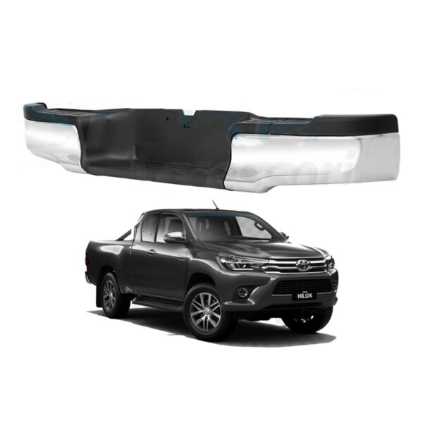TOYOTA HILUX REAR BUMPER REPLACEMENT