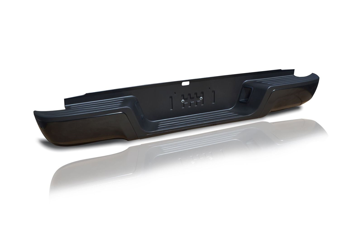 TOYOTA HILUX MK8 2016 ON REPLACEMENT REAR BUMPER IN BLACK