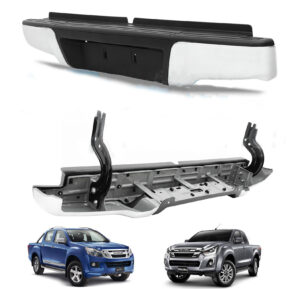 Isuxu D-Max - 2012 on rear stainless steel bumper