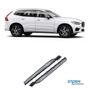 VOLVO XC60 2018 ONWARDS OE STYLE INTEGRATED RUNNING BOARDS SIDE STEPS – PAIR