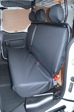 Citroen Berlingo Rear Seat Cover Black