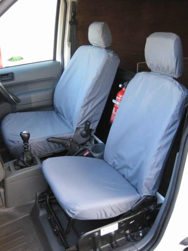 Ford Transit Connect Seat Covers Grey