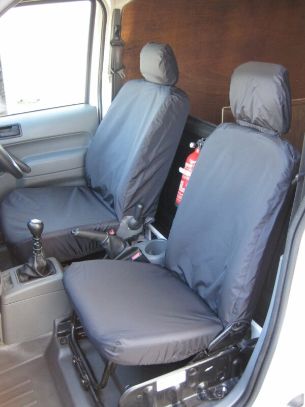 Ford Connect Seat Covers in Black