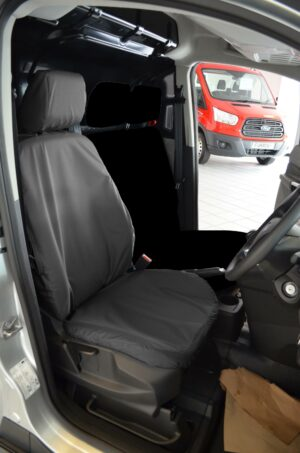 Ford Transit Connect Driver Seat Cover - Black