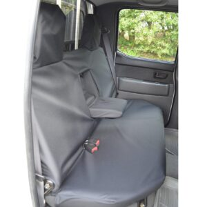 FORD RANGER REAR SEAT COVERS BLACK